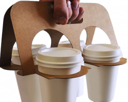 Splittable Cup Carrier